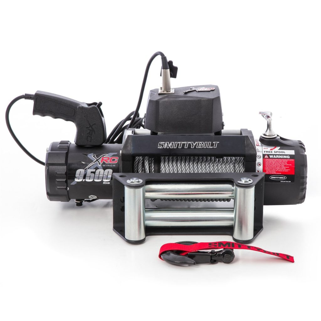 High safety electric winch