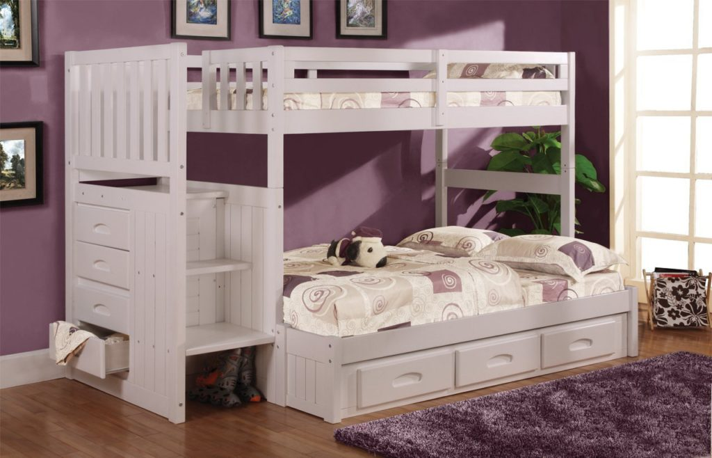 toddler bunk beds with stairs