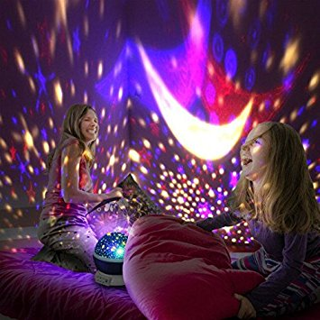 Best Star Projector Night Light For Starry Night Sky.