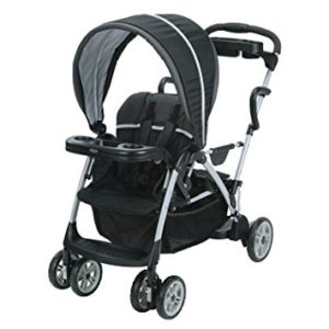 stroller with a standing platform